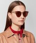 BOTTEGA VENETA RED METAL SUNGLASSES Sunglasses E lp