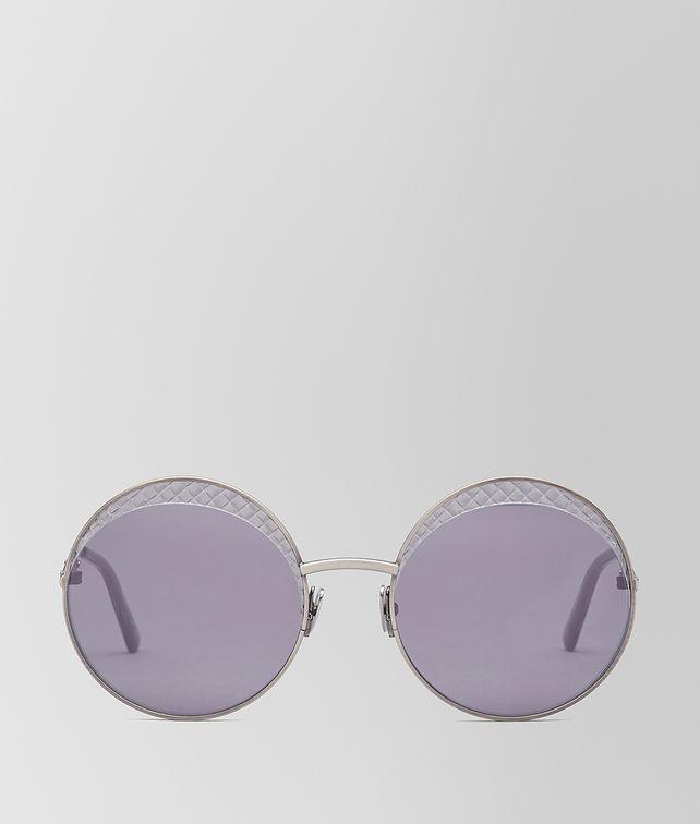 BOTTEGA VENETA SILVER METAL SUNGLASSES Sunglasses [*** pickupInStoreShippingNotGuaranteed_info ***] fp