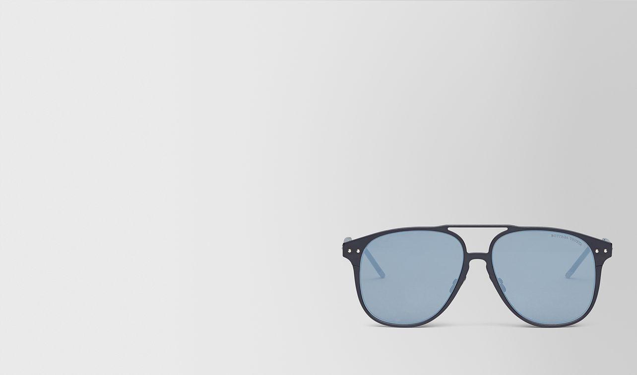 lunettes de soleil en aluminium nero landing