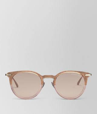 SONNENBRILLE AUS METALL IN BROWN