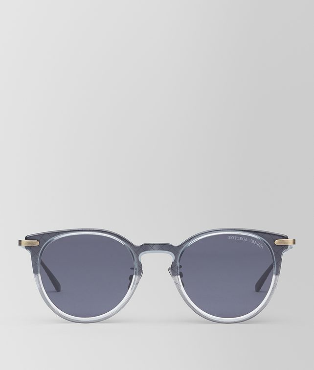 BOTTEGA VENETA GREY/NERO METAL SUNGLASSES Sunglasses E fp