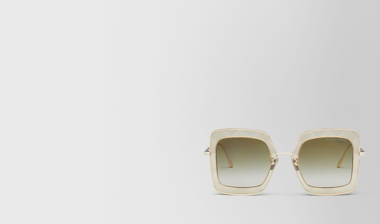 yellow metal sunglasses landing