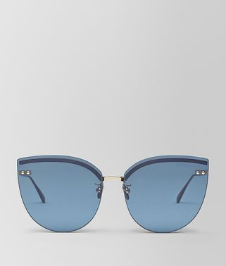BLUE METAL SUNGLASSES