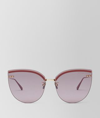 BURGUNDY METAL SUNGLASSES