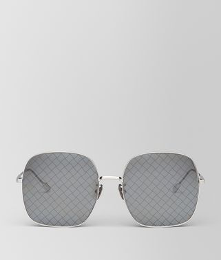 SILVER METAL SUNGLASSES