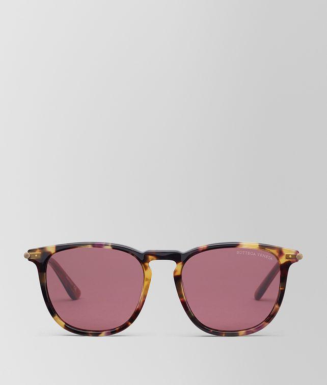 BOTTEGA VENETA HAVANA ACETATE SUNGLASSES Sunglasses E fp