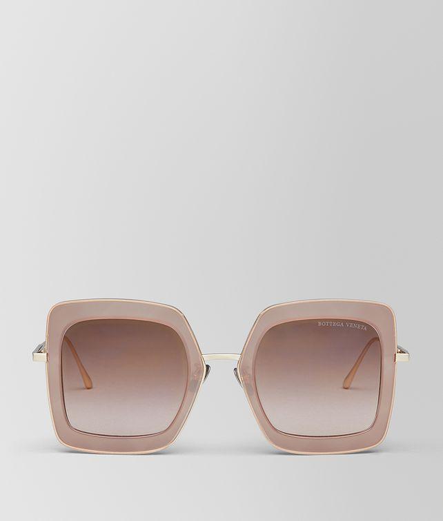 BOTTEGA VENETA BROWN METAL SUNGLASSES Sunglasses [*** pickupInStoreShipping_info ***] fp