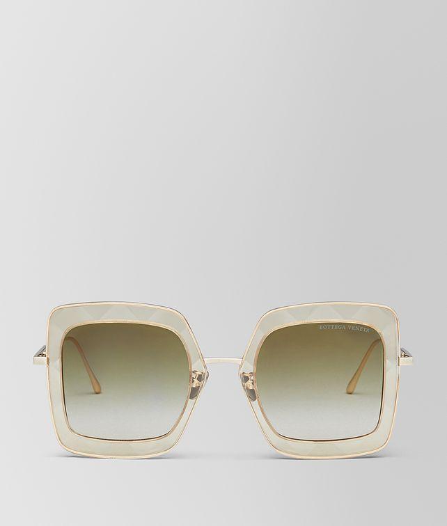 BOTTEGA VENETA YELLOW METAL SUNGLASSES Sunglasses [*** pickupInStoreShipping_info ***] fp