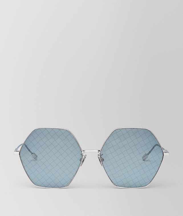 BOTTEGA VENETA SILVER METAL SUNGLASSES Sunglasses [*** pickupInStoreShipping_info ***] fp