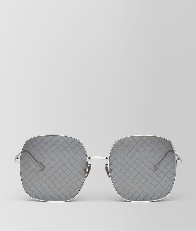 BOTTEGA VENETA SILVER METAL SUNGLASSES Sunglasses [*** pickupInStoreShipping_info ***] fp