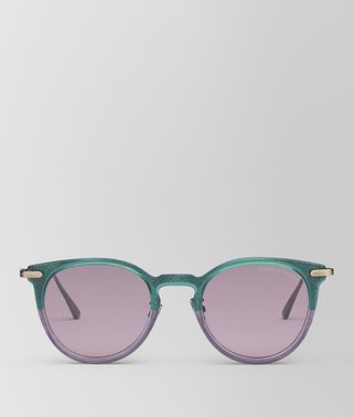 GREEN METAL SUNGLASSES