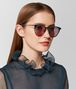 green metal sunglasses Full Out Portrait