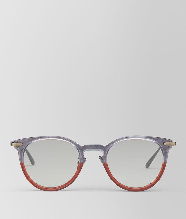 BOTTEGA VENETA GREY METAL SUNGLASSES Sunglasses E fp
