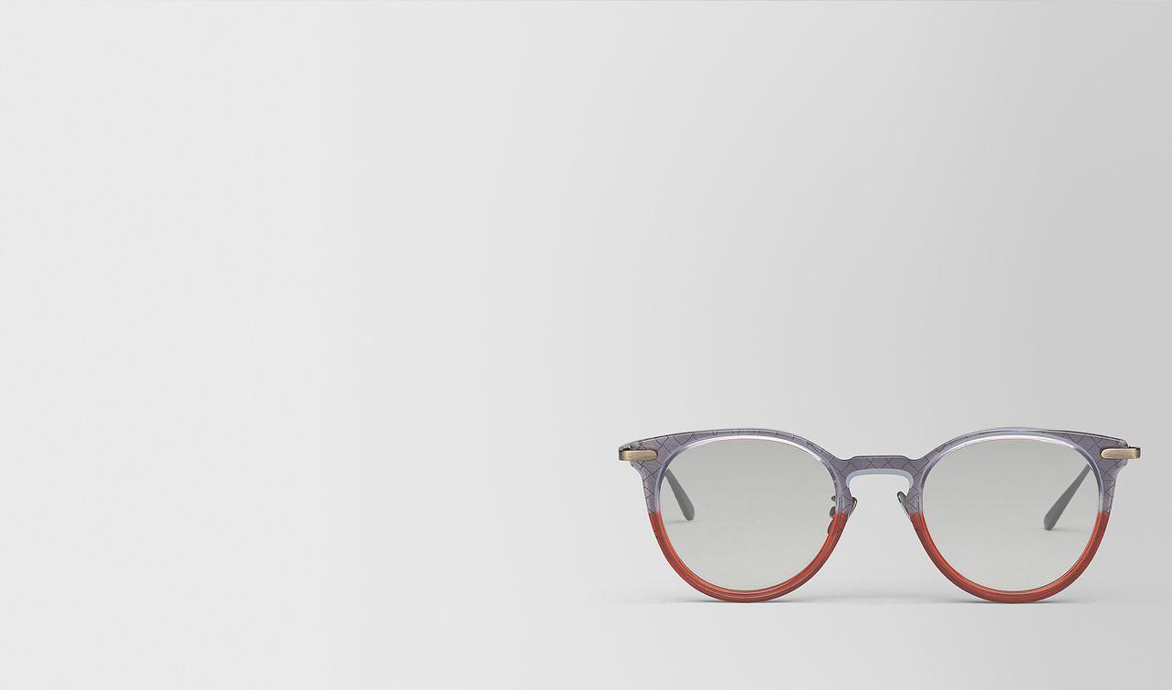 grey metal sunglasses landing