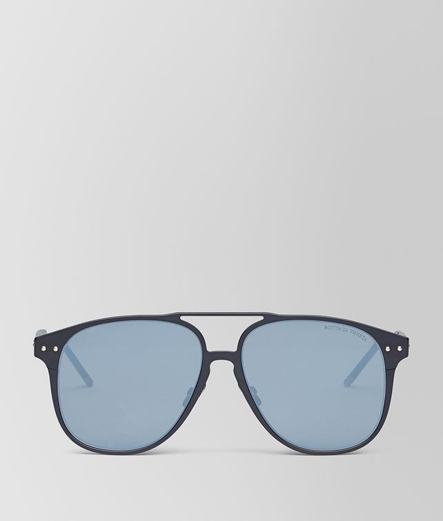 BOTTEGA VENETA NERO ALUMINUM SUNGLASSES Sunglasses [*** pickupInStoreShippingNotGuaranteed_info ***] fp