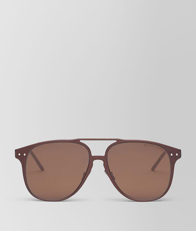 BOTTEGA VENETA BROWN ALUMINUM SUNGLASSES Sunglasses [*** pickupInStoreShippingNotGuaranteed_info ***] fp