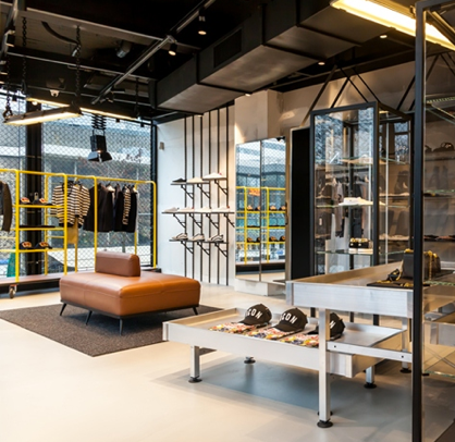 Dsquared2 store interior